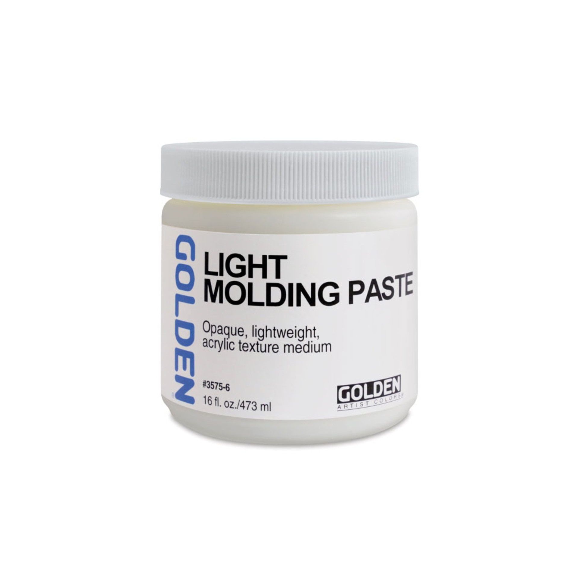 Golden Light Molding Paste Acrylic Medium 16oz