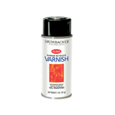 Grumbacher Damar Retouch Gloss Varnish 11oz