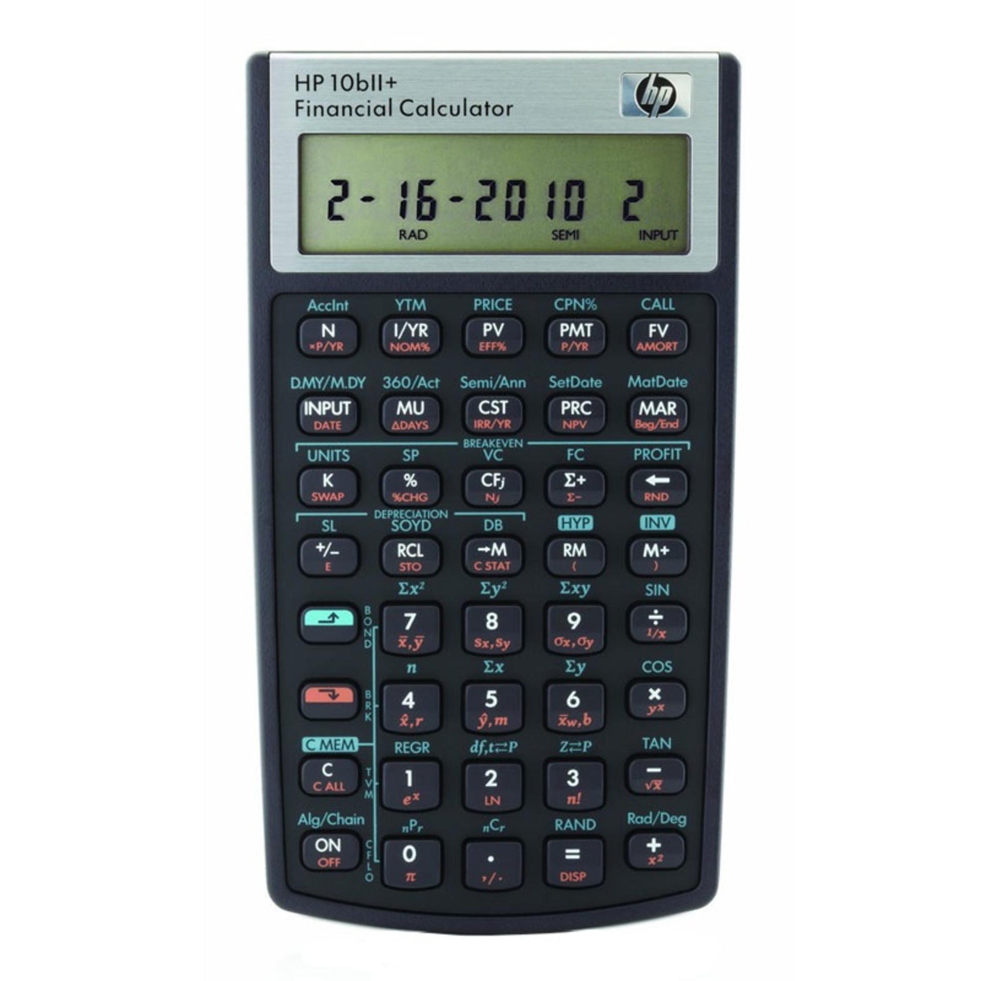 HP 10BII Plus Calculator