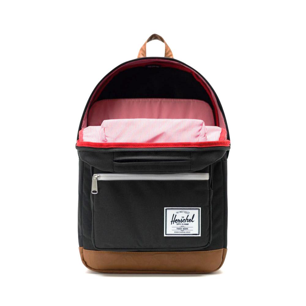 Herschel Pop Quiz Backpack Black Inside