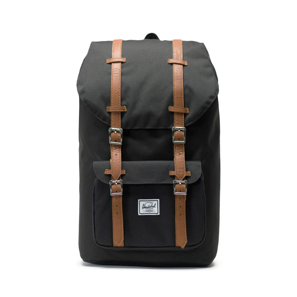Herschel Little America Backpack Black Front