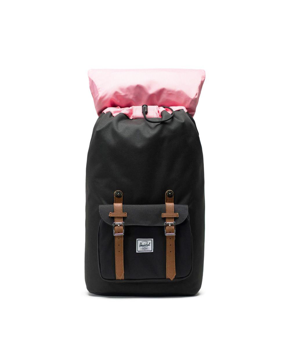 Herschel Little America Backpack Black Inside
