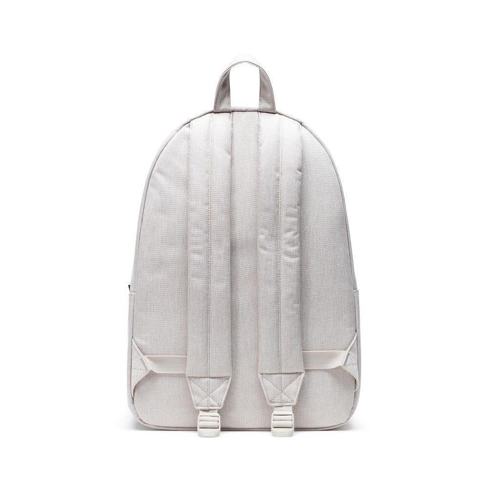 Herschel Classic XL Overcast Crosshatch Backpack Back