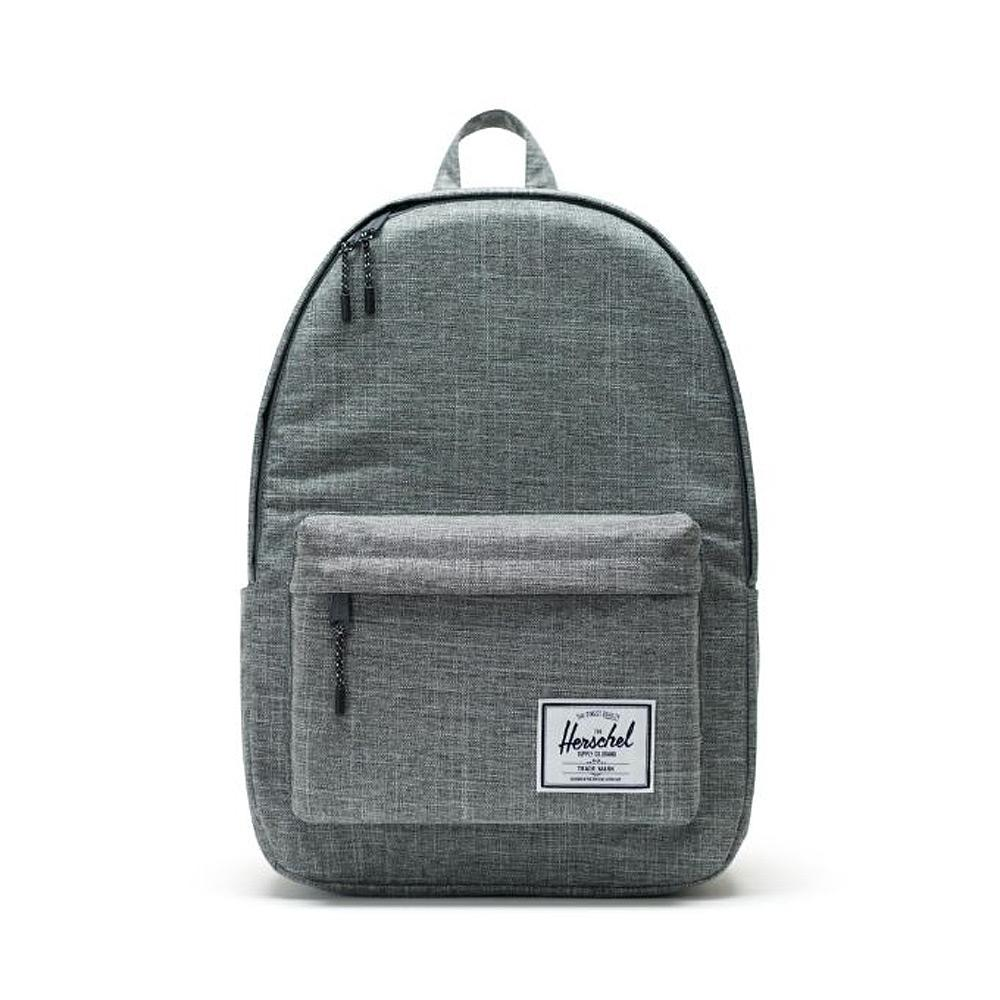 Herschel Classic XL Raven Crosshatch Backpack Front