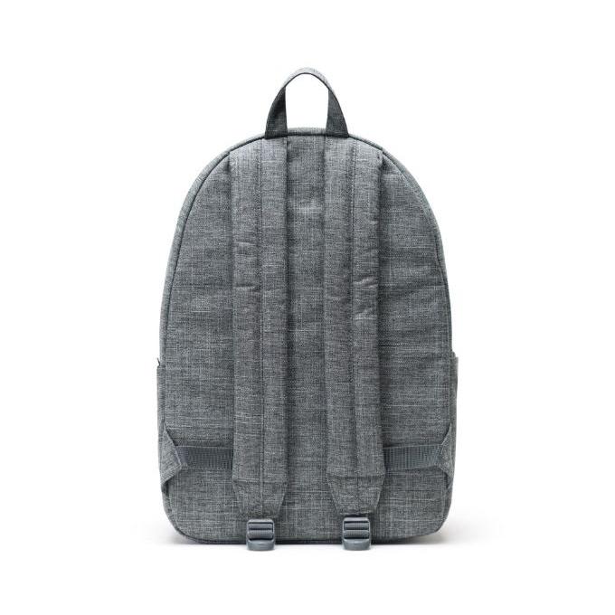 Herschel Classic Backpack XL Raven Crosshatch Back