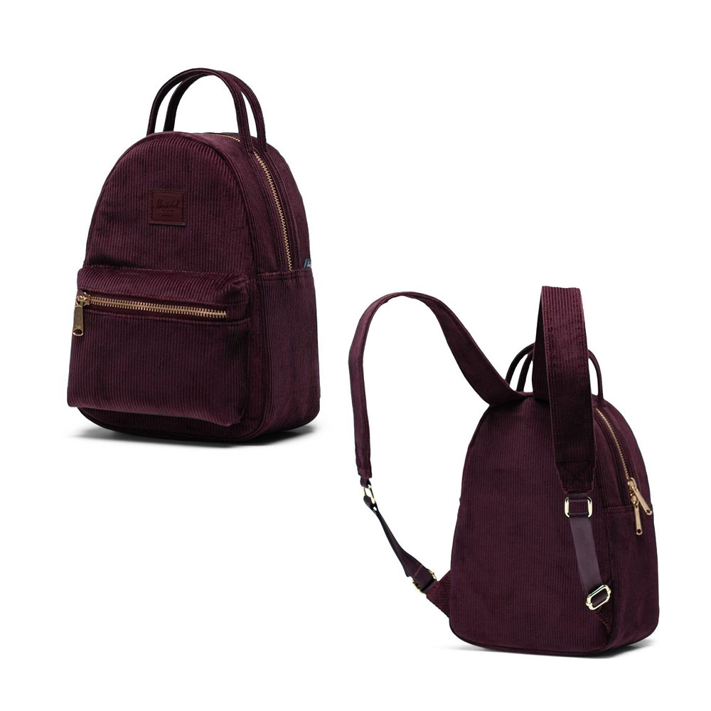 Herschel Cotton Plum Nova Mini Backpack