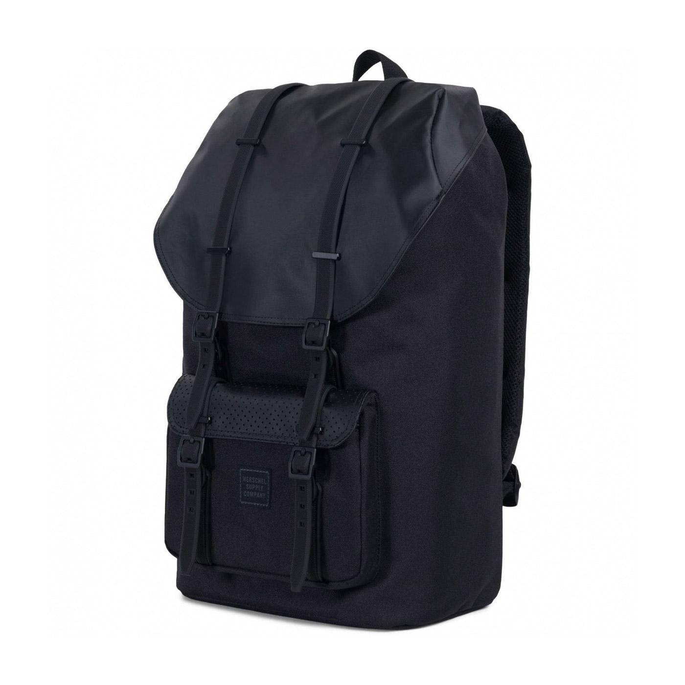 Herschel Little America Backpack Black Side