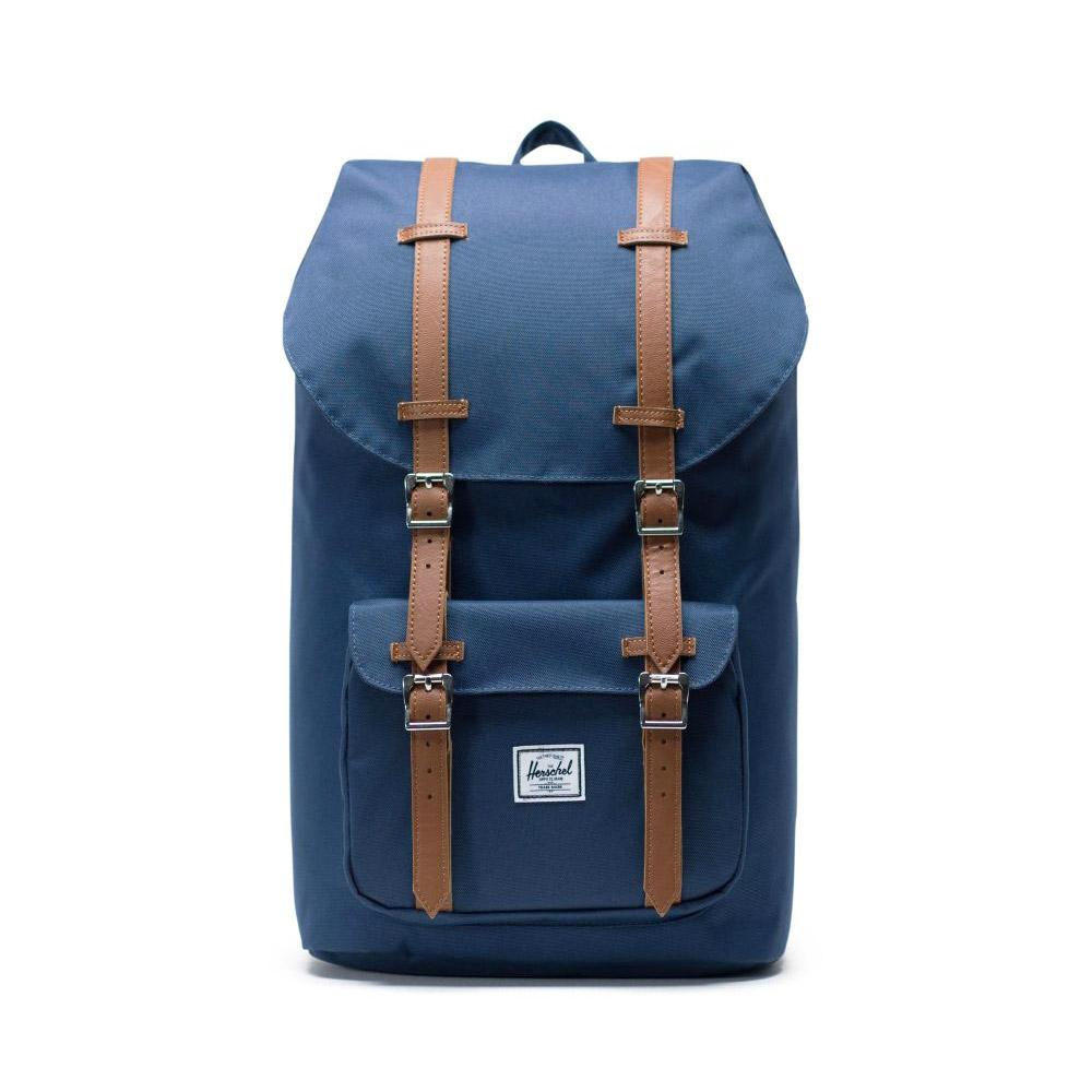 Herschel Little America Backpack Navy Front