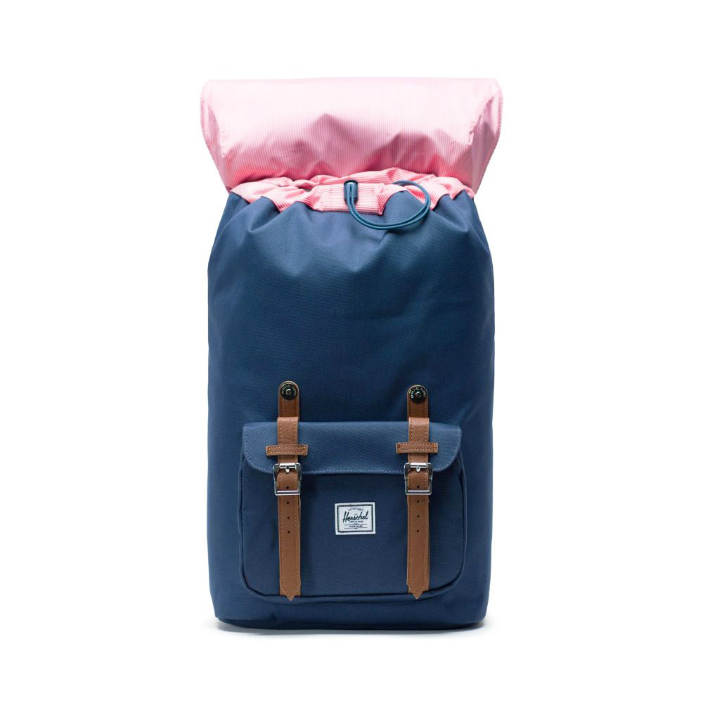 Herschel Little America Backpack Navy Inside