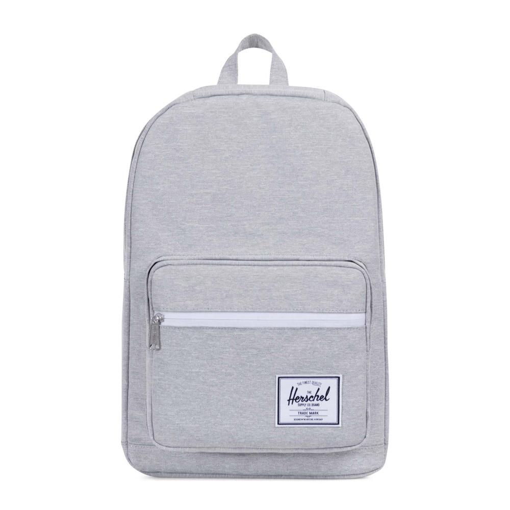 Herschel Pop Quiz Light Grey Crosshatch Backpack
