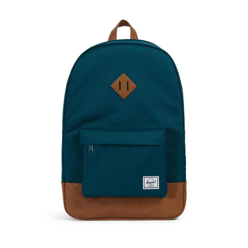 Herschel Heritage Backpack Deep Teal Front