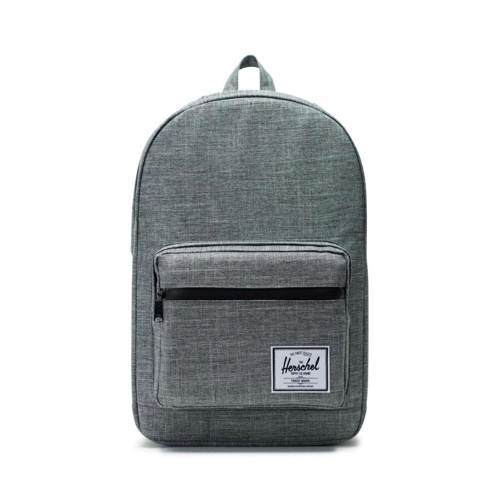 Herschel Pop Quiz Backpack Raven Front