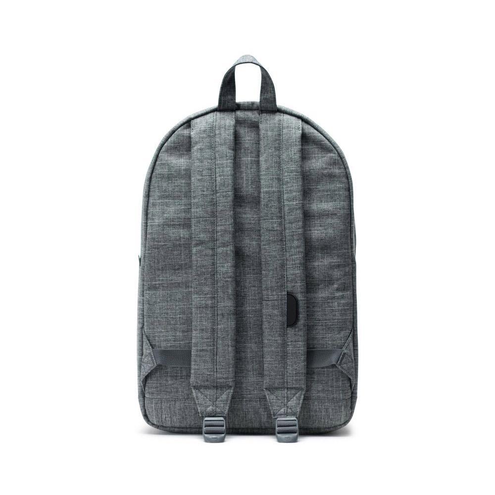 Herschel Pop Quiz Backpack Raven Back