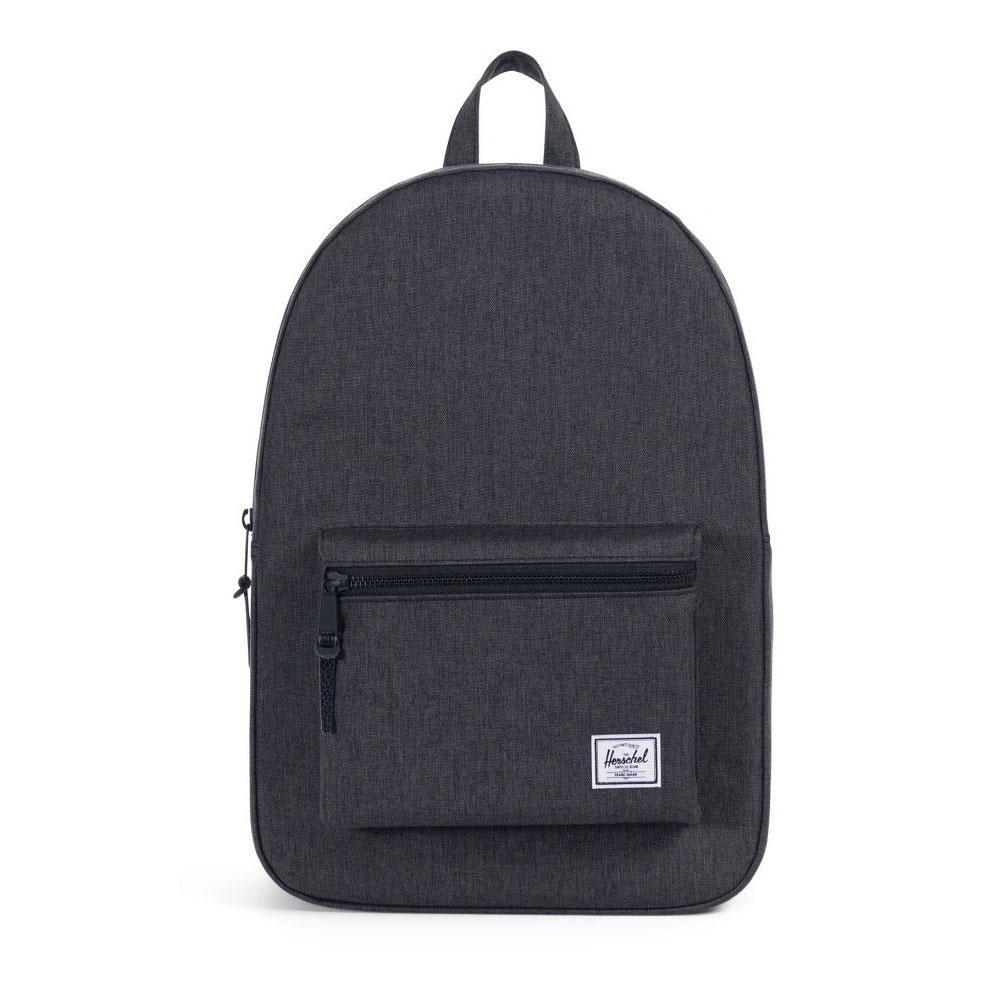 Herschel Settlement Black Crosshatch Backpack