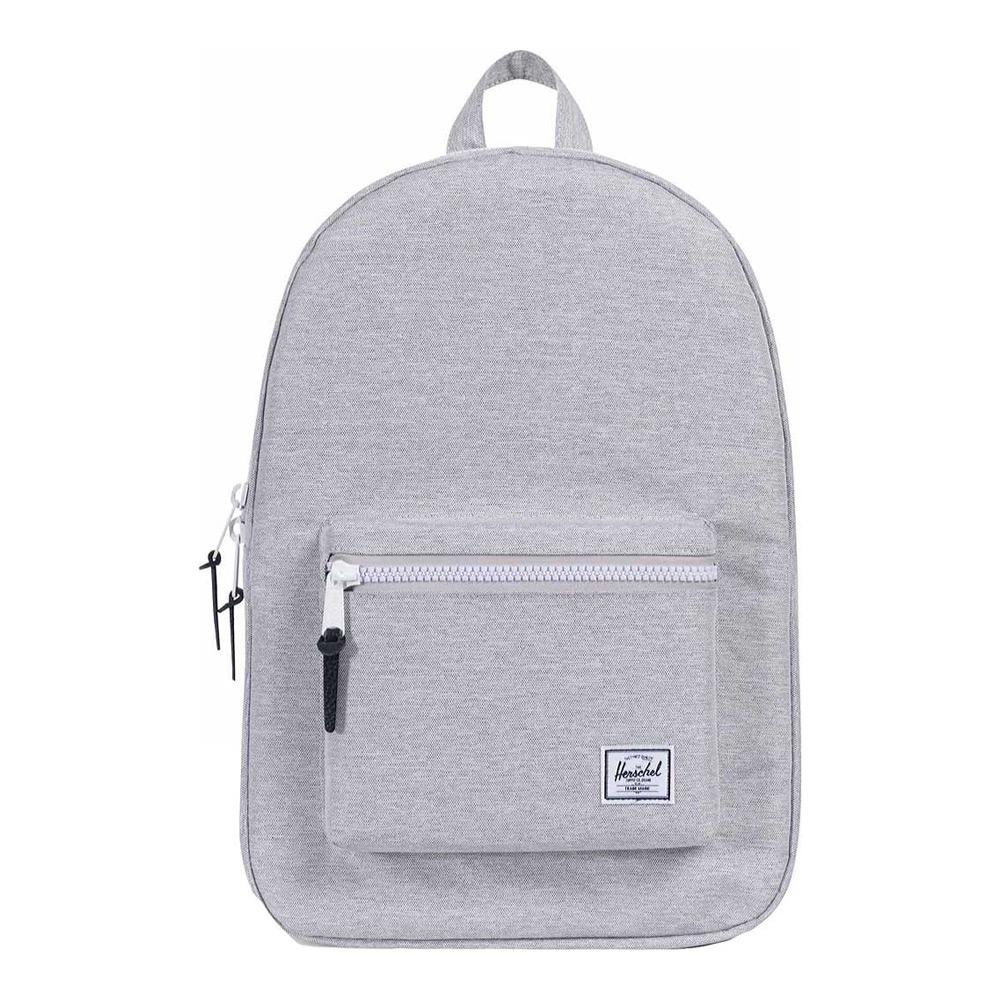 Herschel Settlement Light Gray Crosshatch Backpack