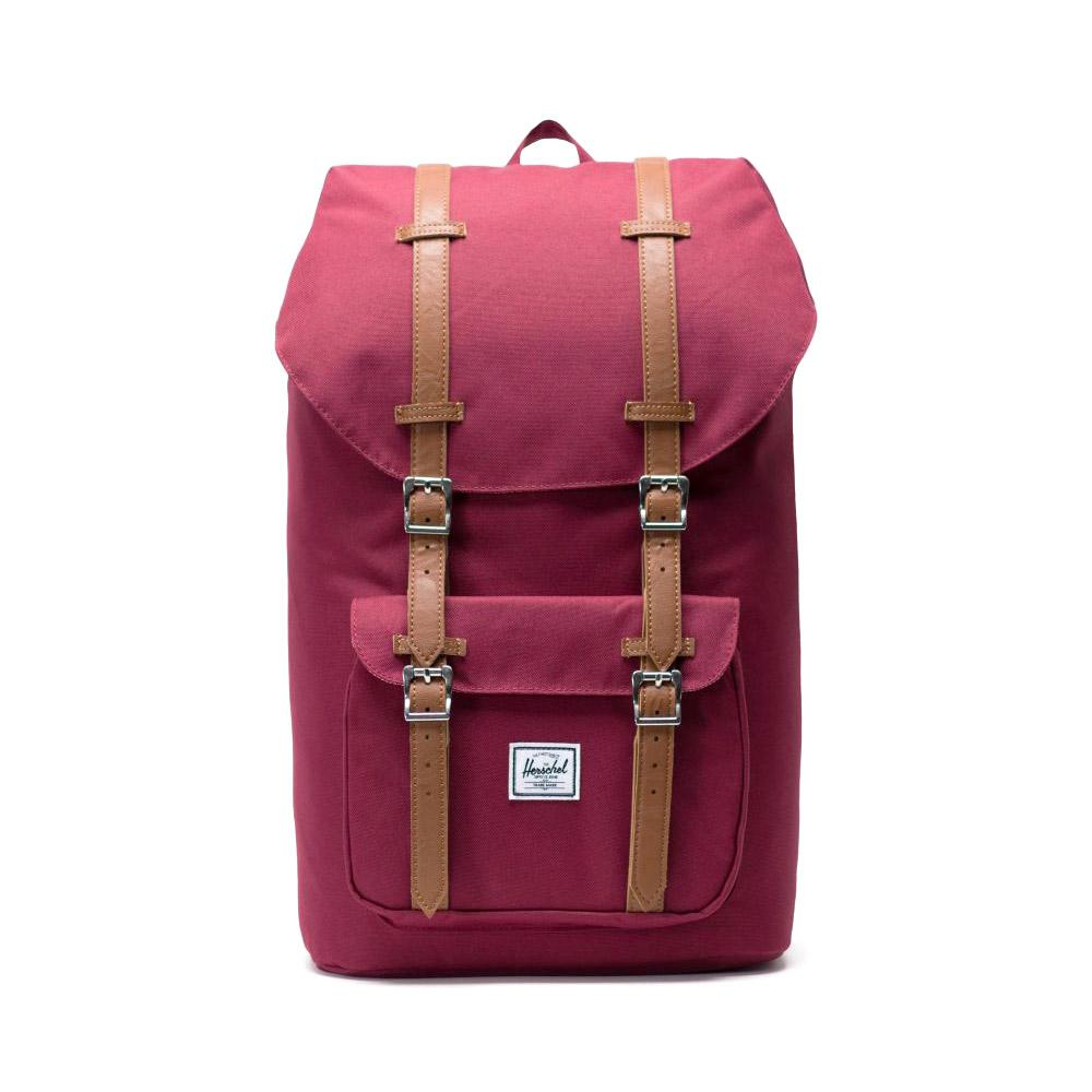 Herschel Little America Backpack Windsor Wine Front