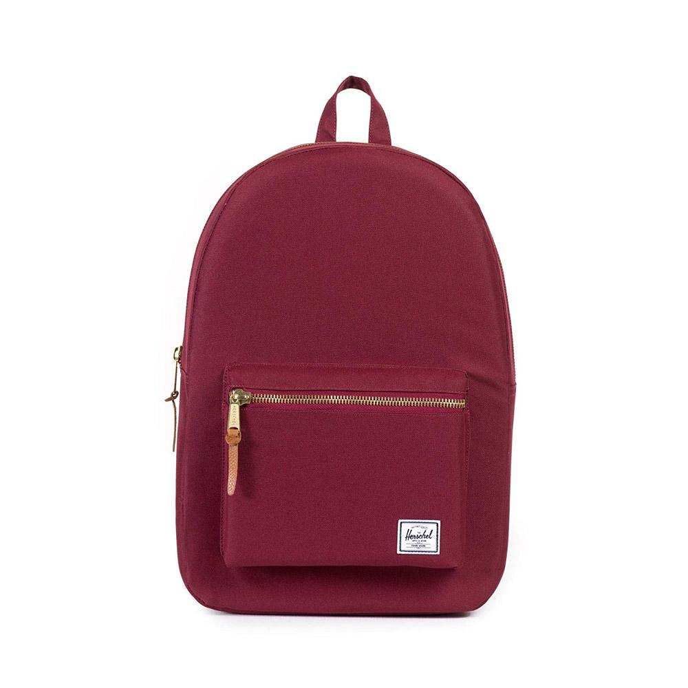 Herschel Settlement Backpack Windsor Wine Front