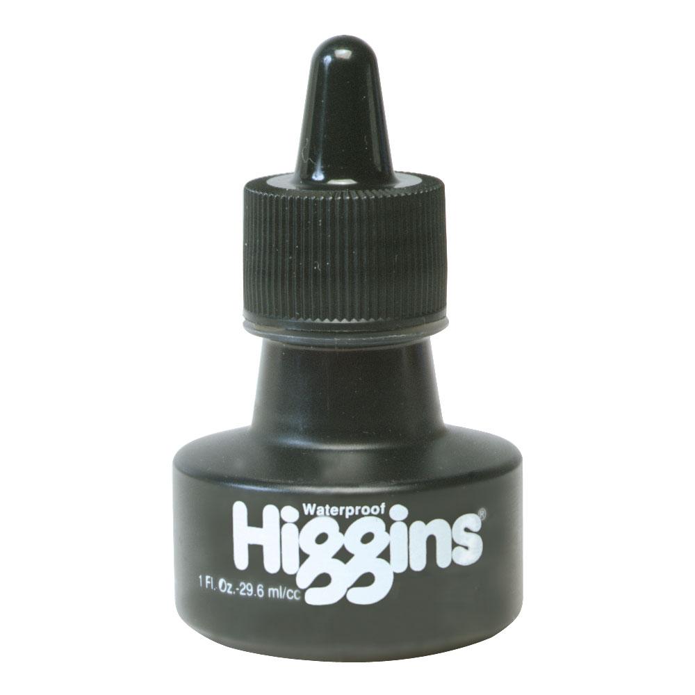 Higgins Drawing Ink Black 1oz