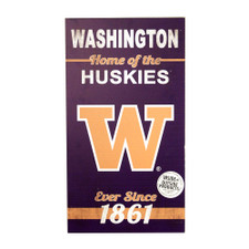 Home of the Washington Huskies Indoor/Outdoor Sign 11x20