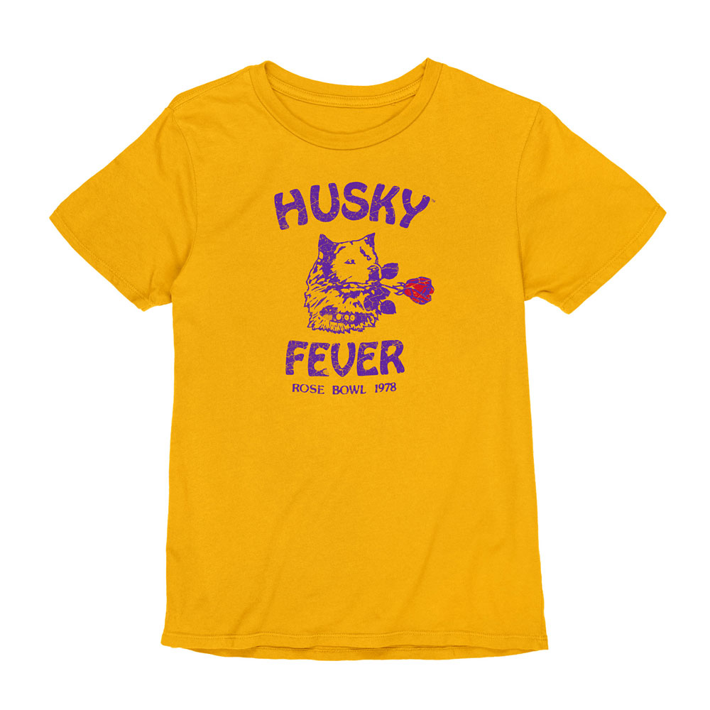 Husky Throwback Women's Husky Fever Reverve Vintage Tee