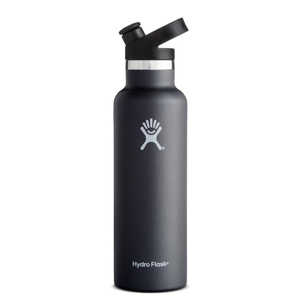 Hydro Flask Sport Cap Water Bottle 21oz Black