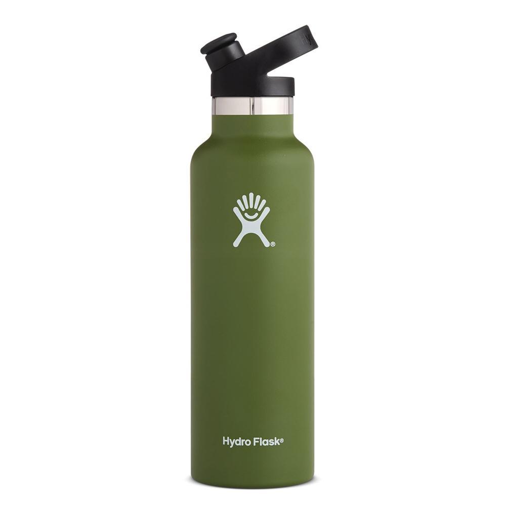 Hydro Flask Sport Cap Water Bottle 21oz Olive