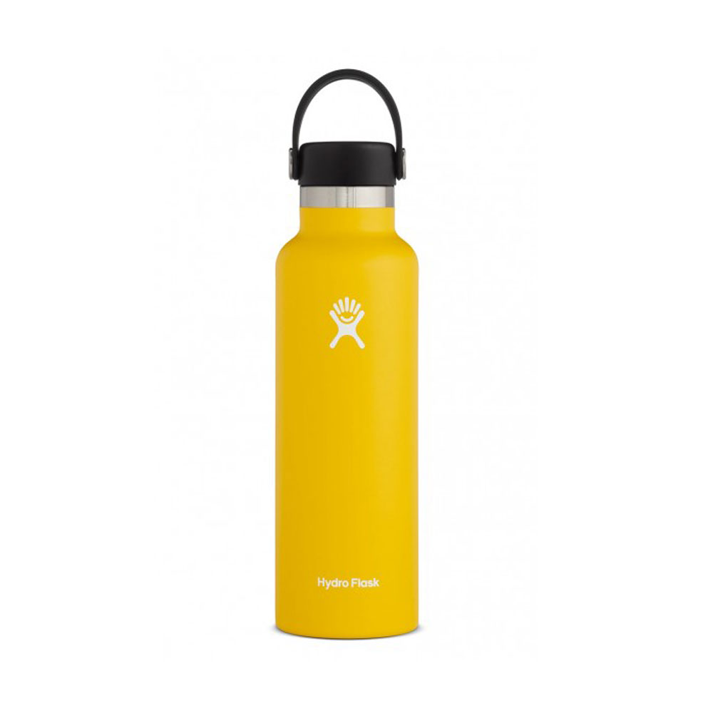 Hydro Flask Standard Mouth Water Bottle 21oz - Sunflower