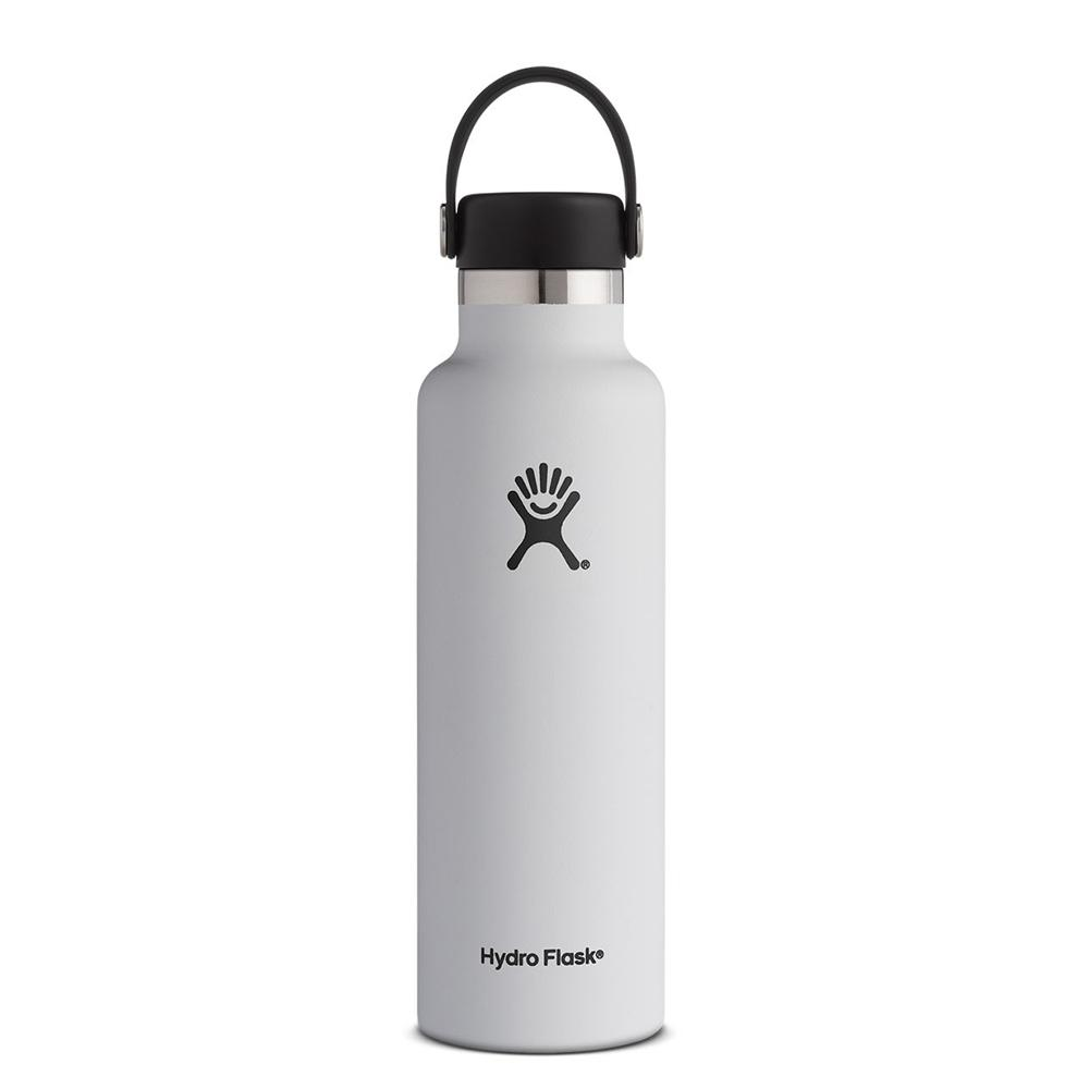Hydro Flask Water Bottle White