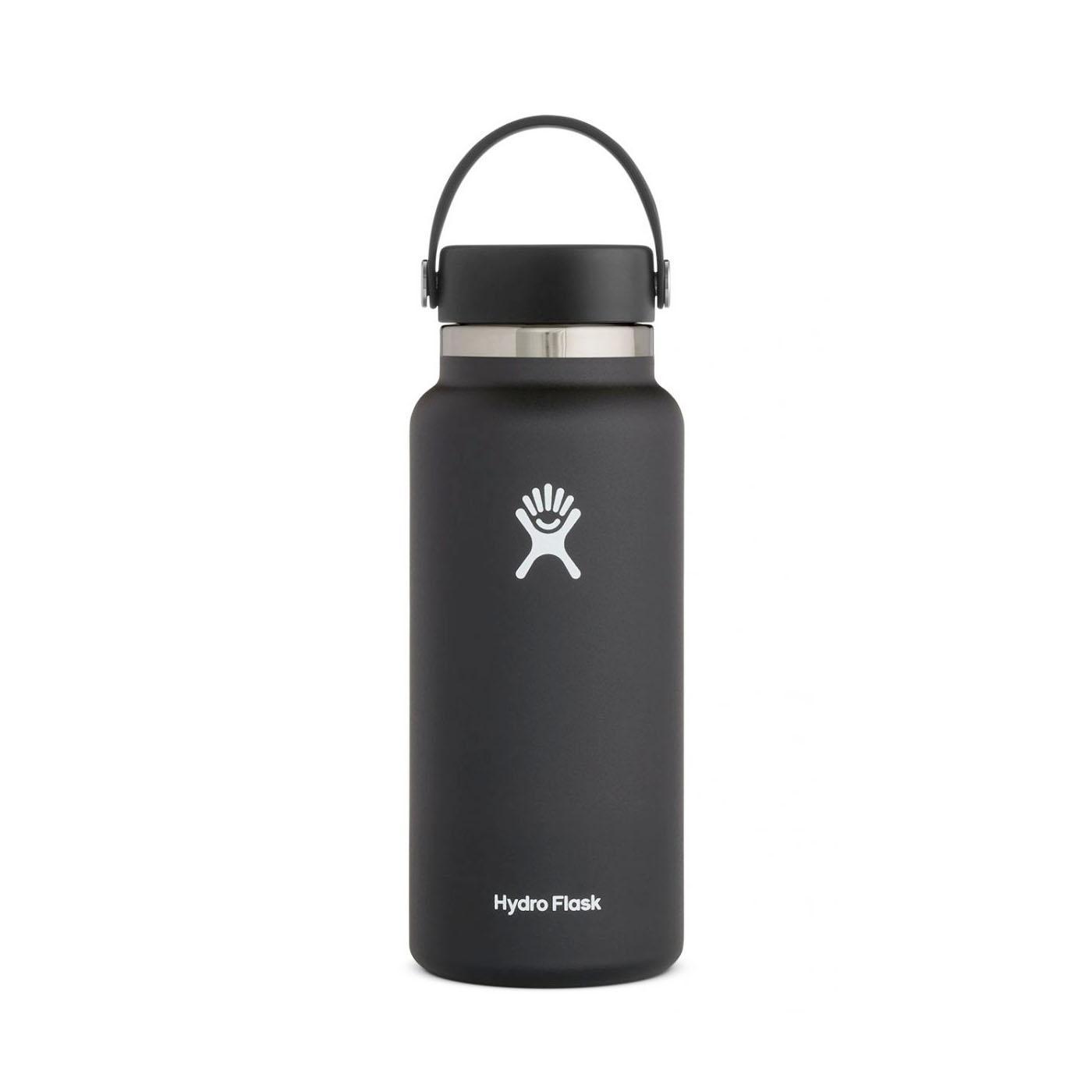 Hydro Flask Wide Mouth Water Bottle 32oz Black