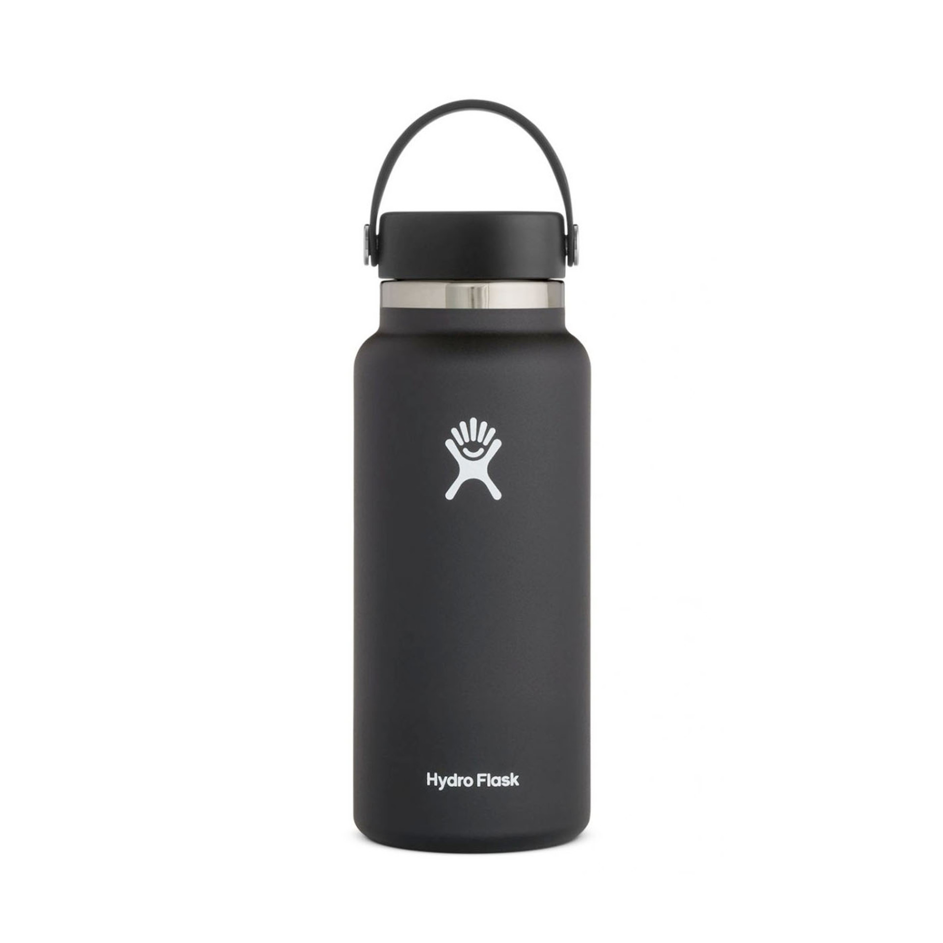 Hydro Flask Wide Mouth Water Bottle 32oz Black