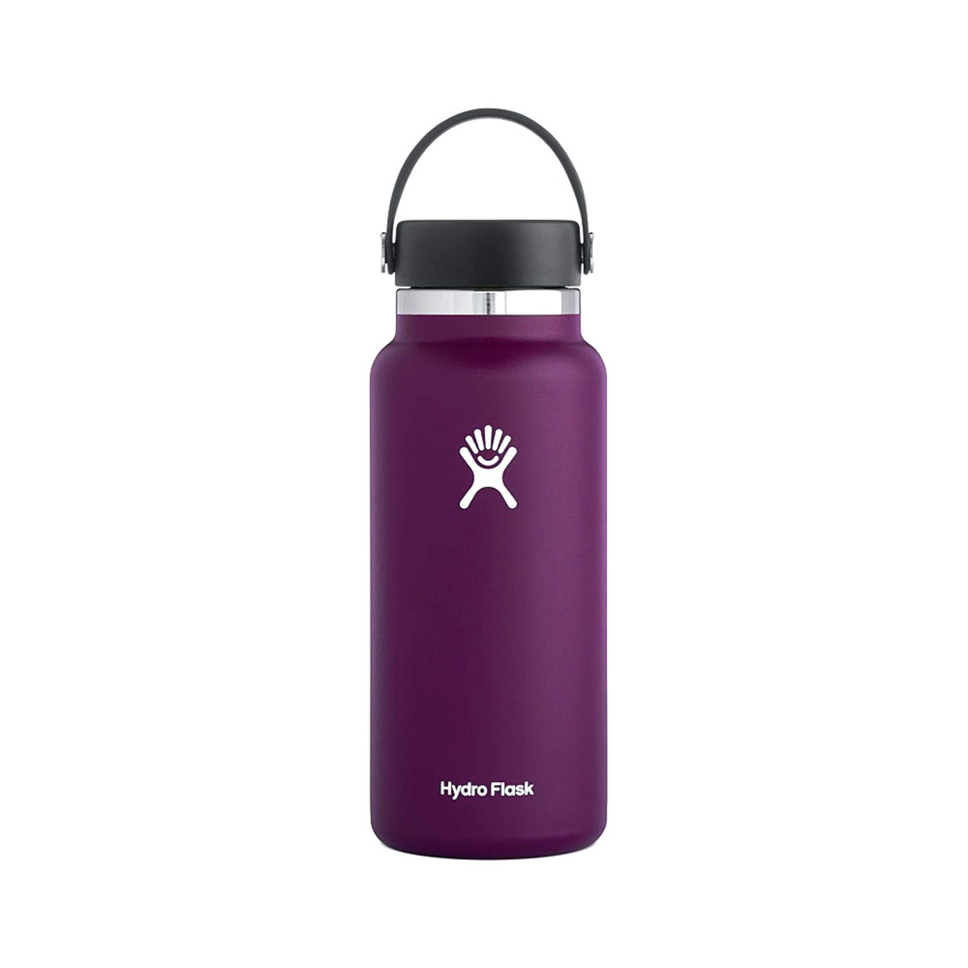 Hydro Flask Wide Mouth Water Bottle 32oz – Eggplant