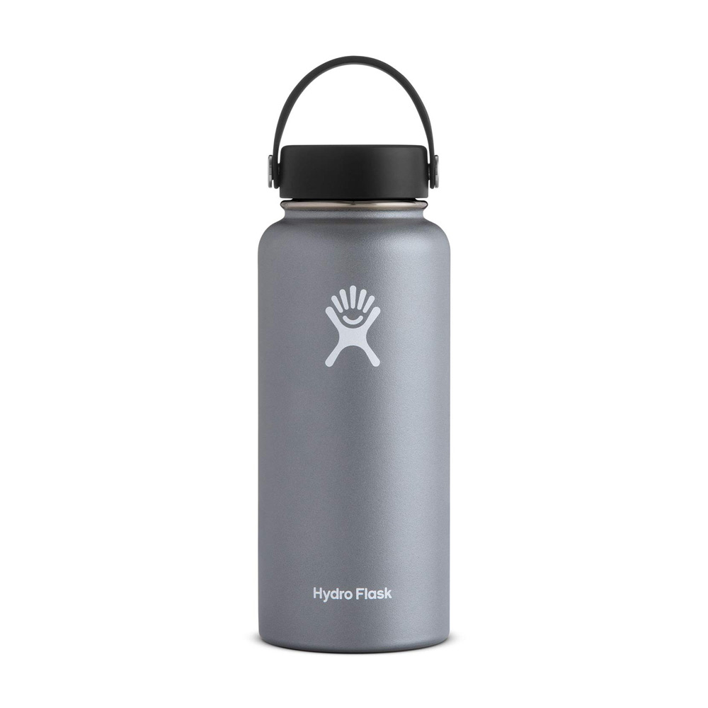 Hydro Flask Wide Mouth Water Bottle 32oz Granite