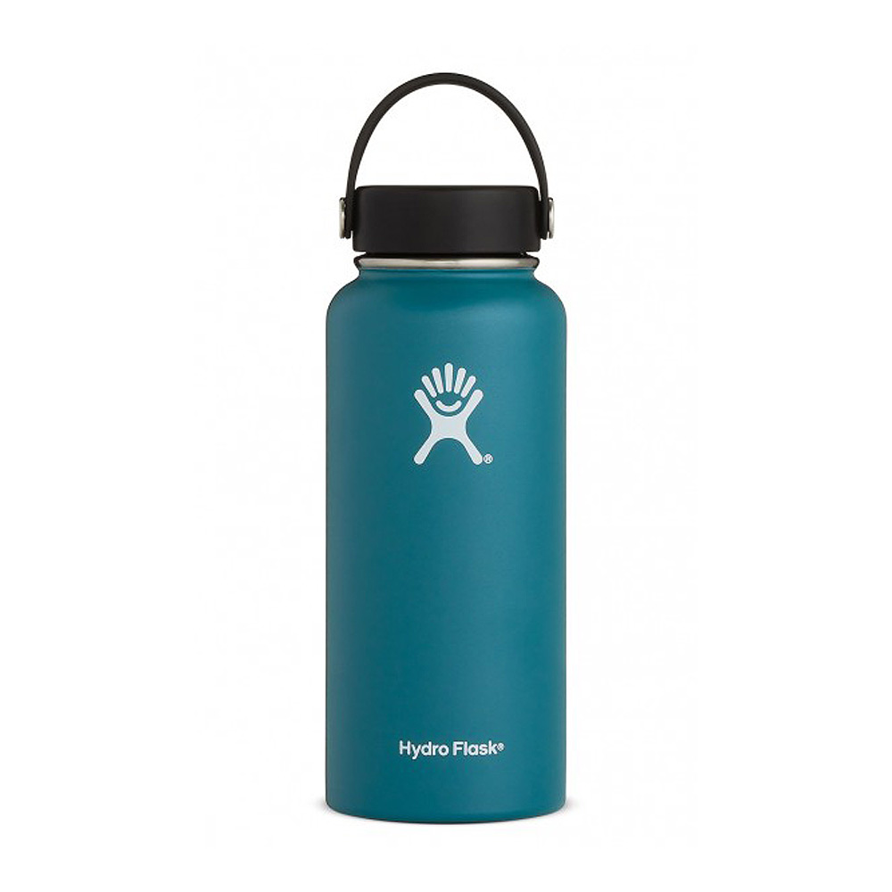 Hydro Flask Wide Mouth Water Bottle 32oz Jade