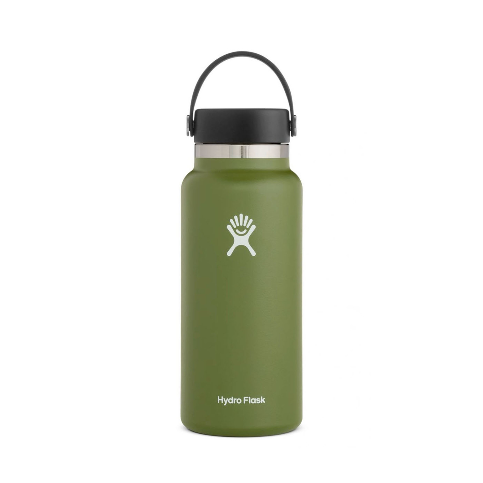 Hydro Flask Wide Mouth Water Bottle 32oz Olive