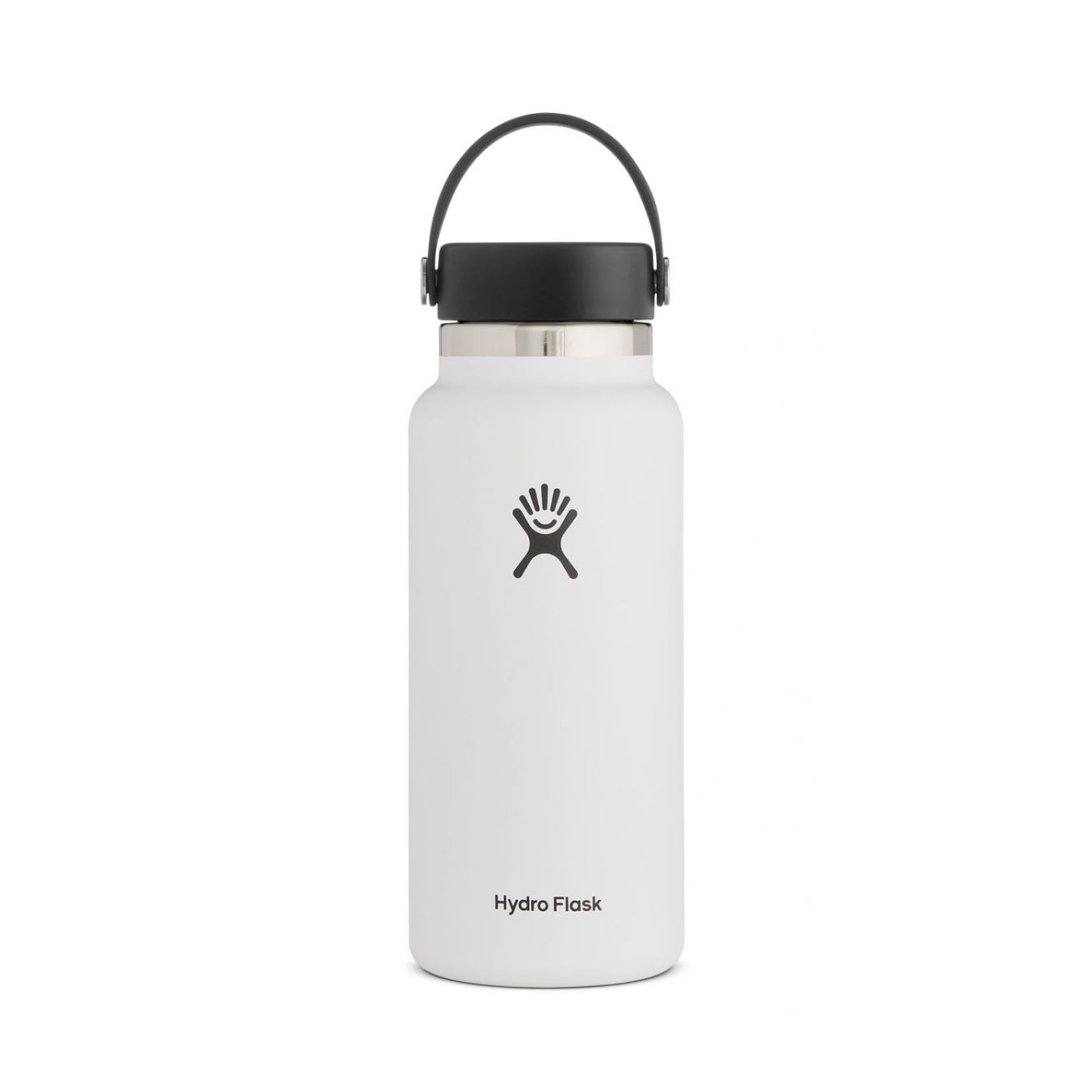 Hydro Flask Wide Mouth Water Bottle 32oz White