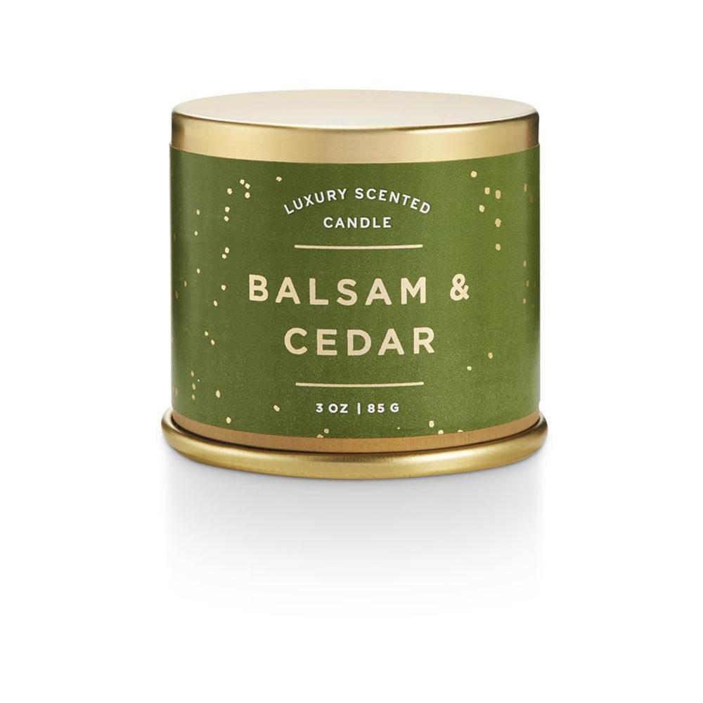 Illume Balsam Cedar Demi Tin Candle
