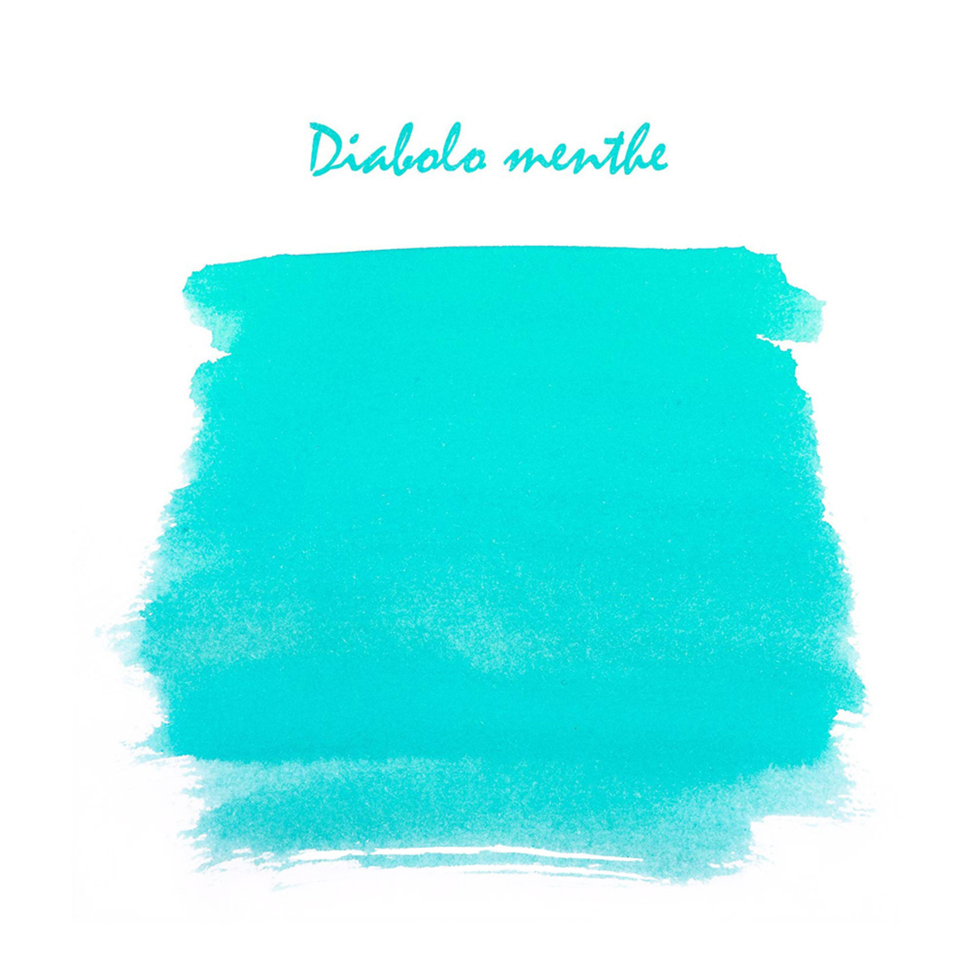 J.Herbin 10ml Fountain Pen Ink Diablo Menthe