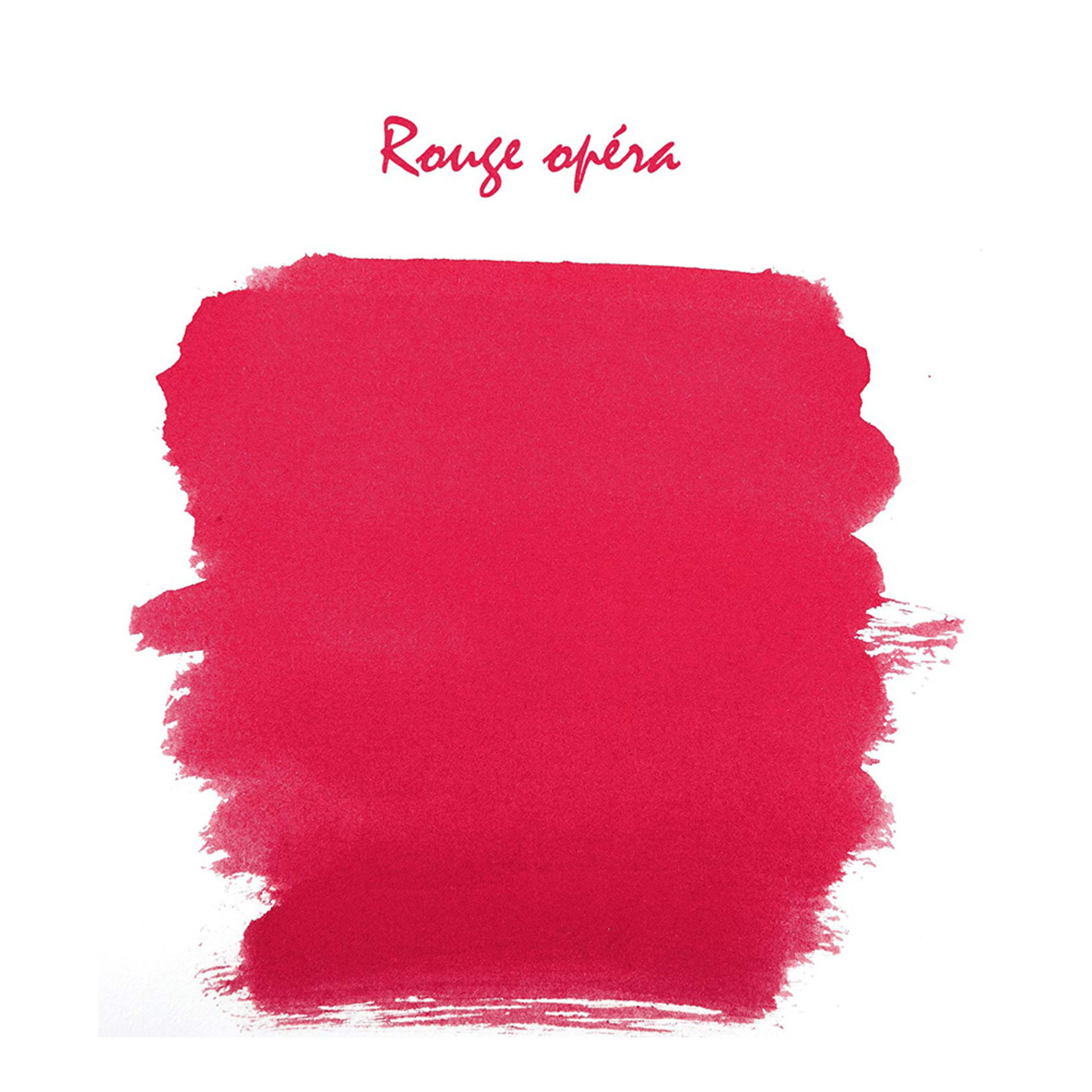 J.Herbin 10ml Fountain Pen Ink Rouge Opera