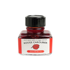J. Herbin 30ml Fountain Pen Ink – Rouge Caroubier