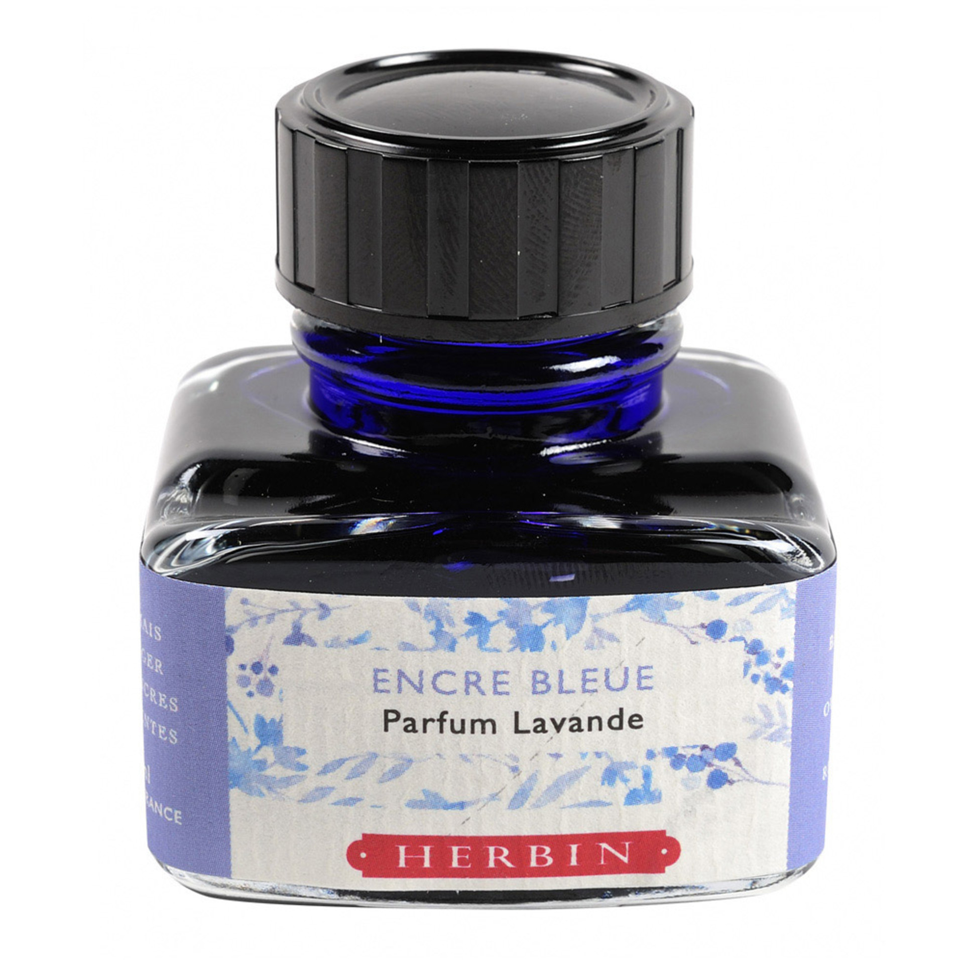 J. Herbin 30ml Scented Fountain Pen Ink Blue Lavender