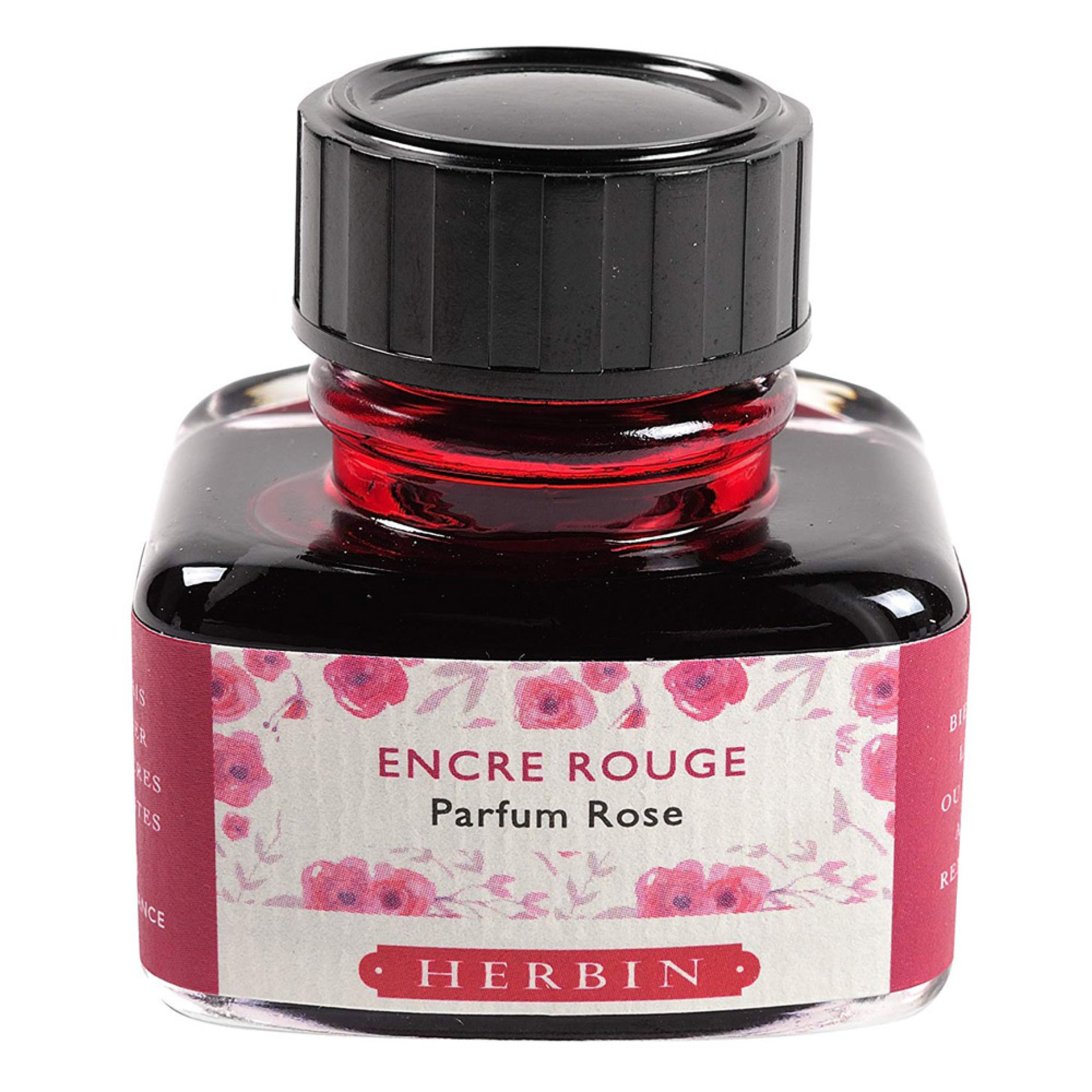 J. Herbin 30ml Scented Fountain Pen Ink Rose