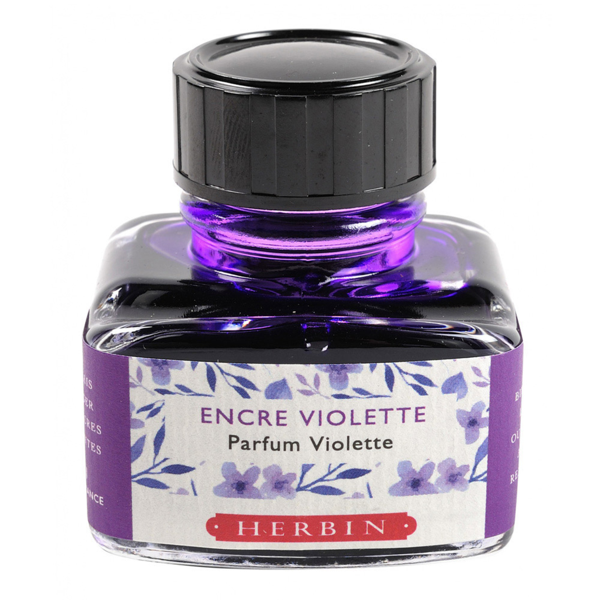 J. Herbin 30ml Scented Fountain Pen Ink Violet