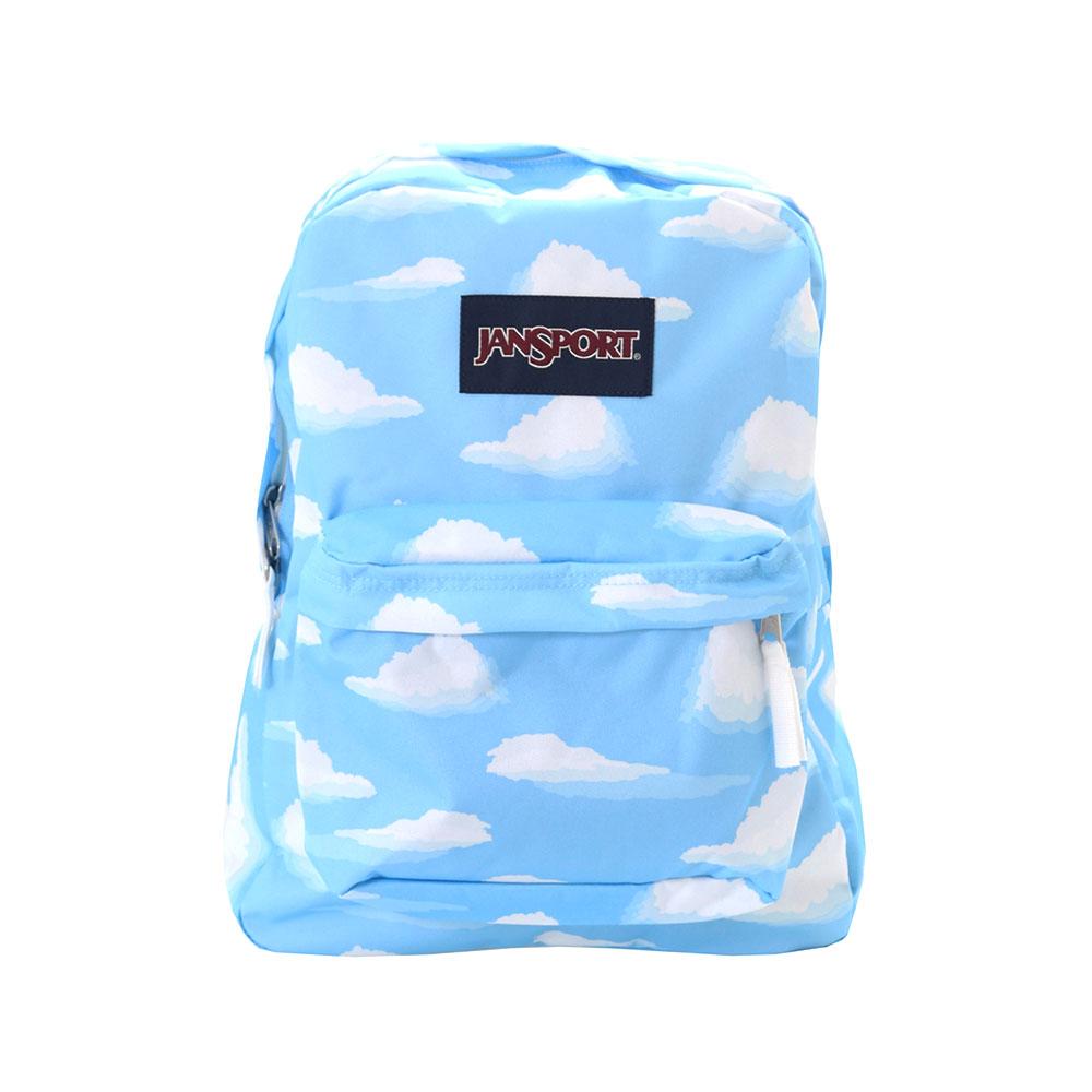 Jansport Big Student Backpack Multi Ornate Blues