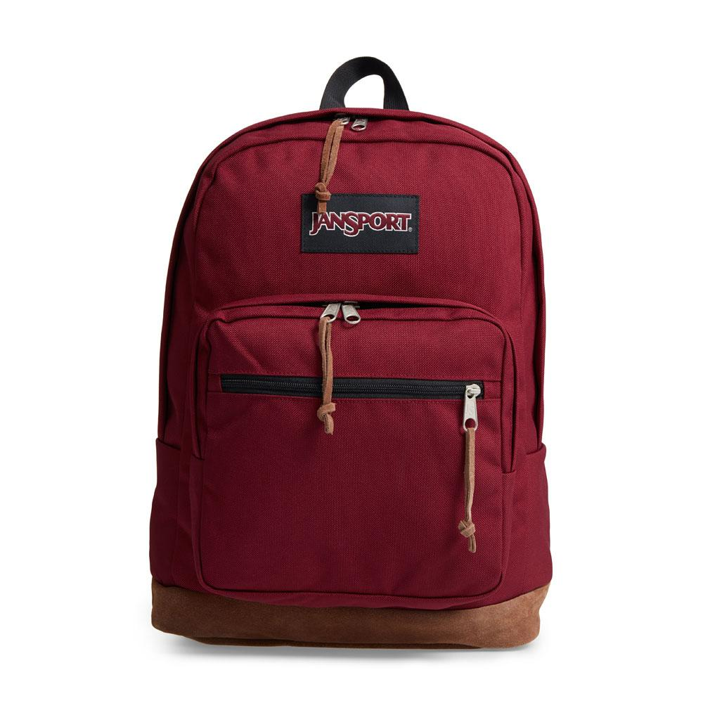 JanSport Russet Red Right Pack Backpack 31L