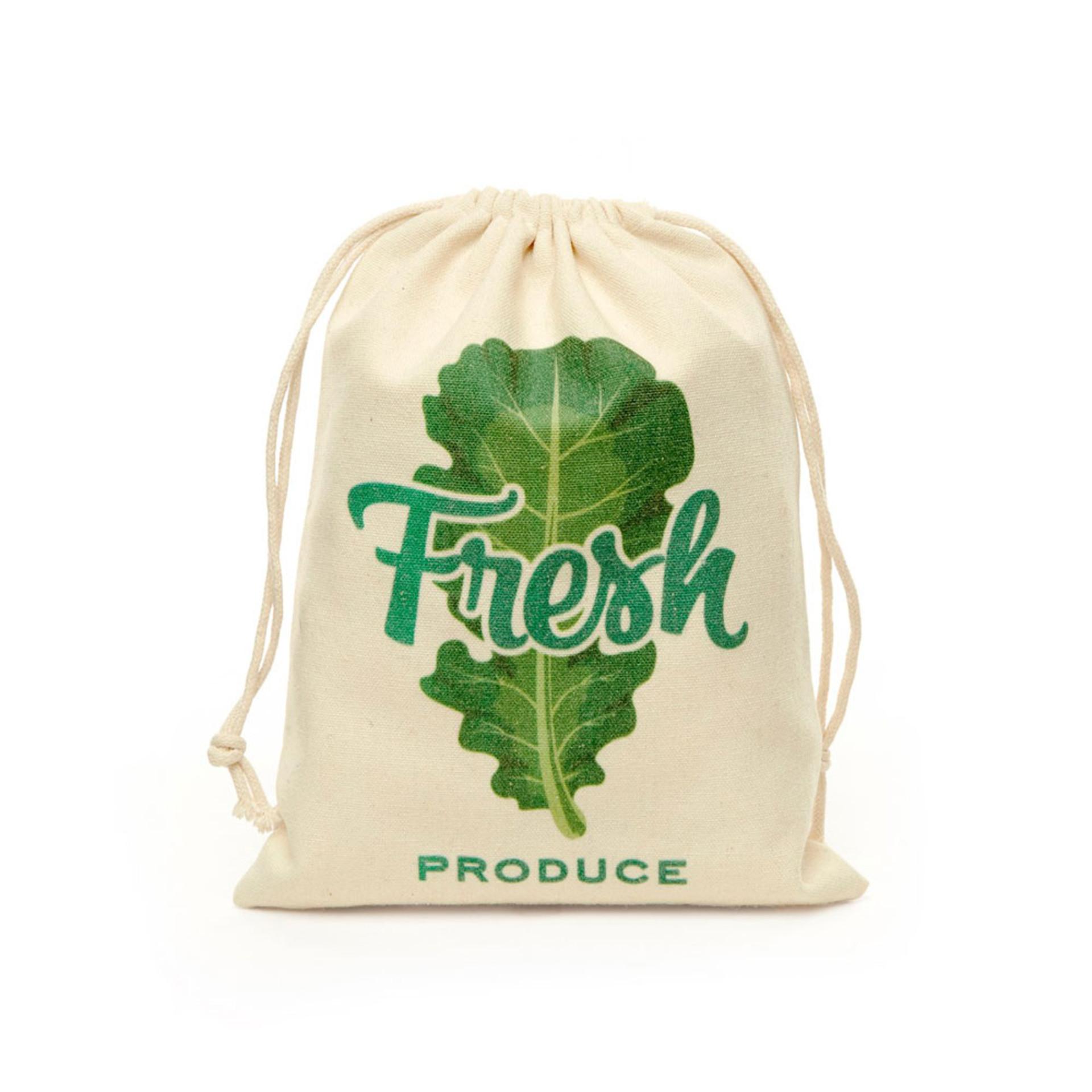 Kikkerland Cotton Mesh Produce Bags