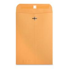 "Business Source Kraft 7.5""x10.5"" Heavy Duty Clasp Envelopes"