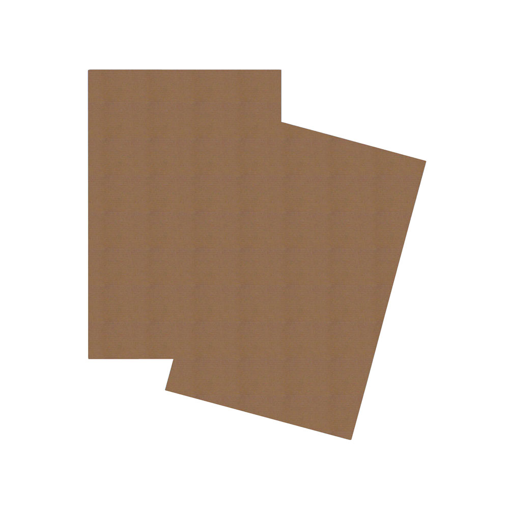 "Kraft Corrugated C-Flute Cardboard Sheet 32""x40"""