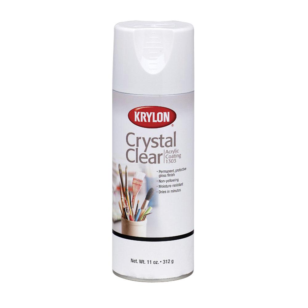 Krylon Crystal Clear Acrylic Coating Spray 11oz