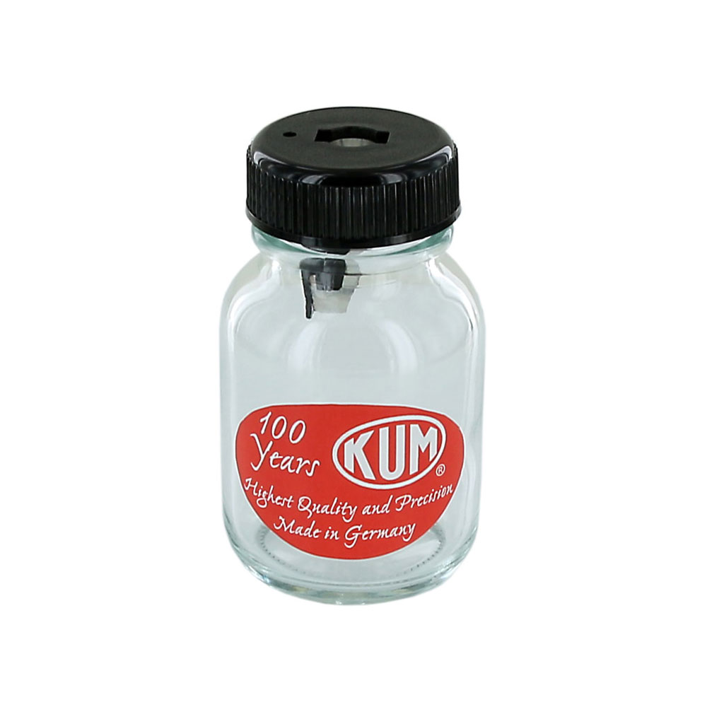 Kum 100 Year Anniversary Glass Bottle Pencil Sharpener