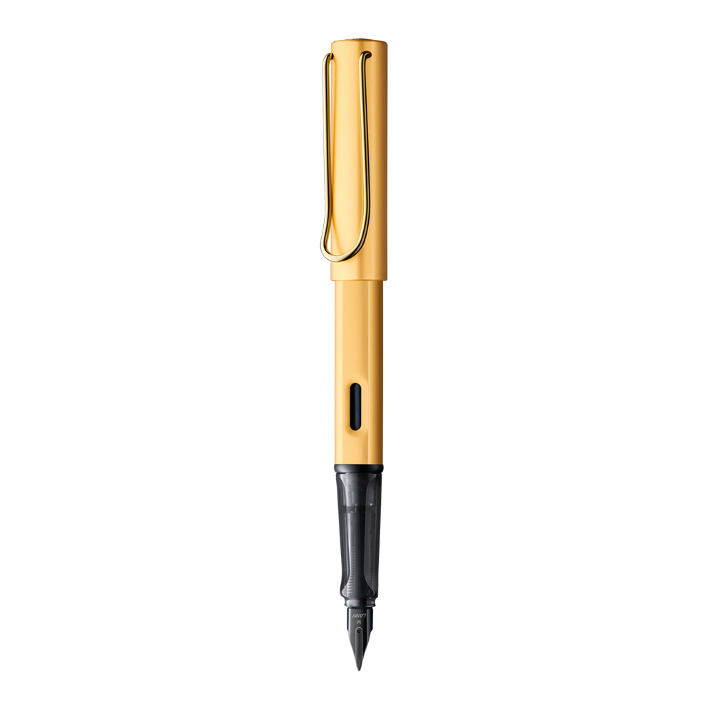 Lamy Lx Fountain Pen Gold Front